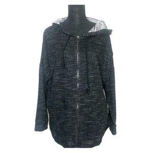Maurice's plus size zip up hoodie jacket